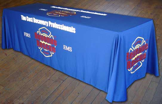 Revenue Rescue 4 Sided Draped Table Cover