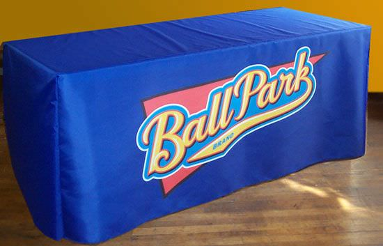 Full Color DyeLux Nylon Table Cover