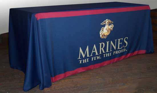 Marines Table Cover