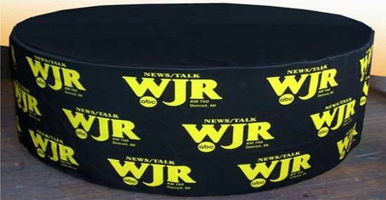 WJR Round Table Cover