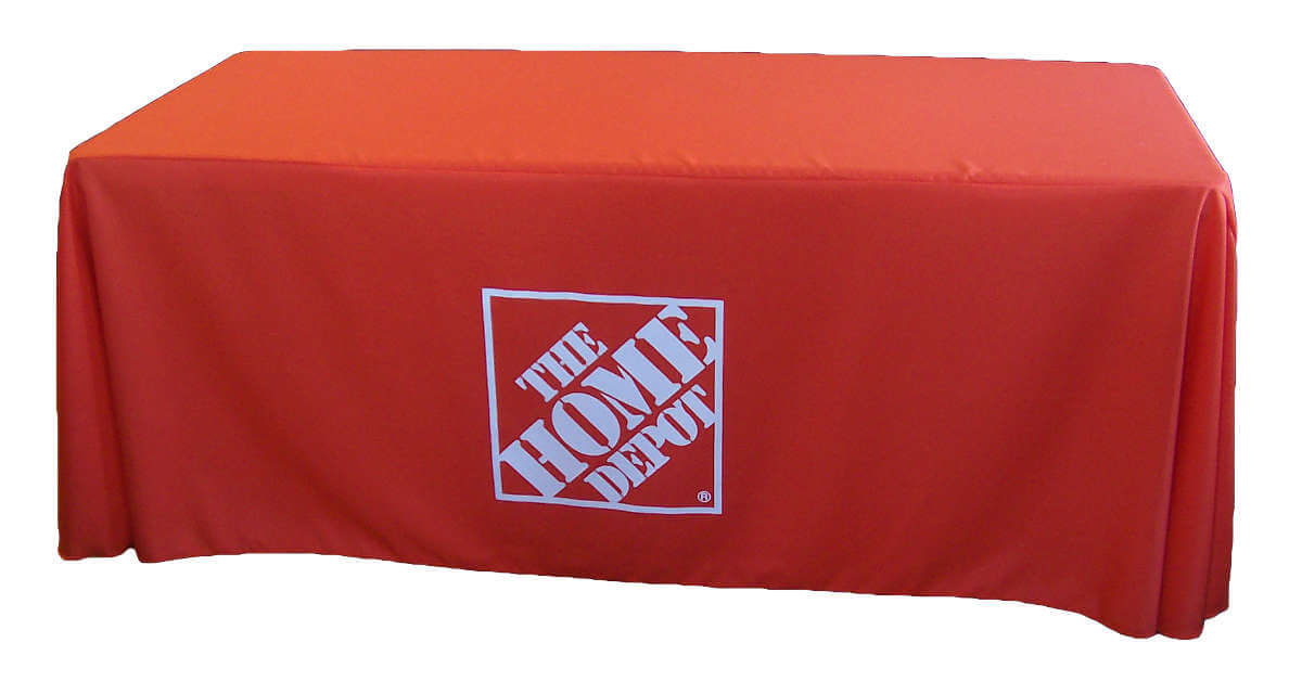 Home Depot Draped Table Cover