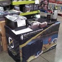 4-ft table for in-store demonstrations