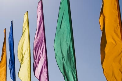 outside feather flags